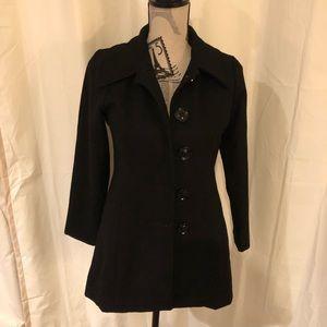 ❄️SALE❄️Sugarfly black coat